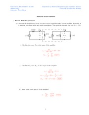 Midterm 1 Solutions 12