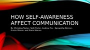 Practice reflection regarding self-awareness and communication skills.pptx