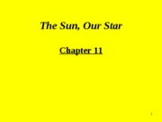 Chapter 11.The Sun, Our Star