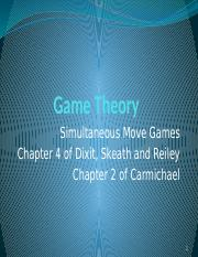 02. Simultaneous Move Games1