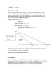 Assignment 6  Linear models solutions (1)