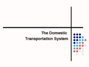 Domestic Transportation System