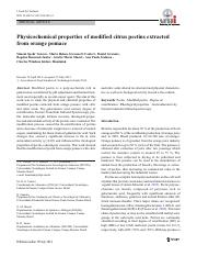 Physicochemical properties of modified citrus pectins extracted from orange pomace.pdf