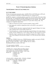 Week 13 Tutorial Questions Solutions