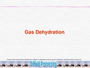 Lecture 7-Gas Dehydration-FOP