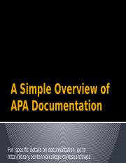 A Simple Overview of APA Documentation.pptx