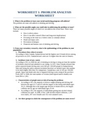 Group Project Worksheet 1