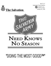 Salvation Army cov