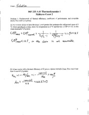 ME 220A Thermodynamics Midterm_20II_sample_20test_20solution