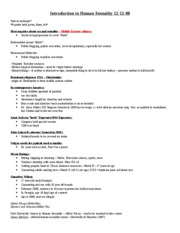 Psychology Class Notes 12-2-08