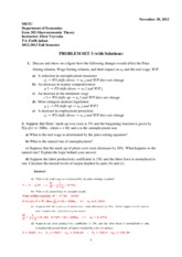 ECON 202 PS 3 SOLUTION