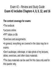 Exam Review #2 online v2.ppt