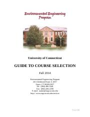 Guide to Course Selection - Spring 2014 (3)