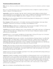 Identifications for Midterm 2, November 7, 2011