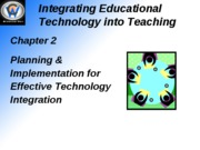 Integrating Educational Technology into Teaching2