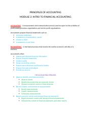 Accounting Module 2 Intro to Financial Accounting.docx