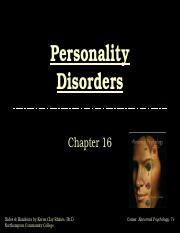 Personality 16.ppt
