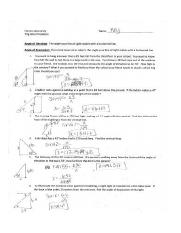 Right Triangle Trig Worksheet Picture