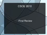 final-review