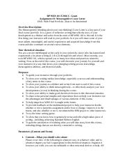 Cover Letter Assignment F2016 CG