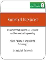 L1_Biomedical Transducers