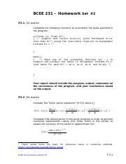BCEE231- Homework Problems Set 2.pdf