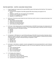 BMGT 220 Chapter 2 Practice Questions
