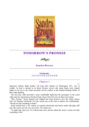 (ebook) Brown Sandra - Tomorrow's Promise