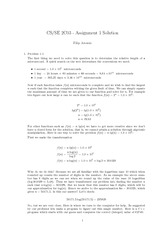 CS 2C03 Assignment 1 solution