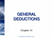 14 (General Deductions)[1]
