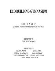 ECO BUILDING GYMNASIUM.docx