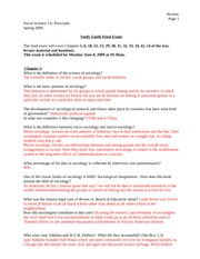 study guide ss1a spaced