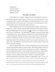 Music Effect.docx