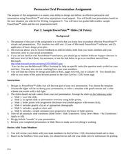 Formal and informal report