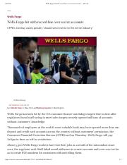 Wells Fargo hit with record fine .pdf