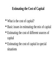 Lecture 3 - Cost of capital.pptx