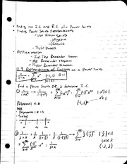 MAT 241 - Notes 11.9 Representations of Functions as a Power Series