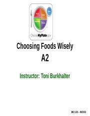 BIO120-A2PPT-choosing+foods+wisely-spring2016-with+clicker+questions