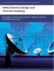 2012- MIMO Antenna Design and Channel Modelling, IJAP.pdf