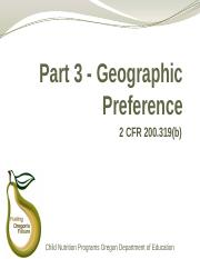 Geographic-Preference-Part-3