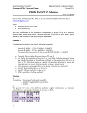 ECON 1745 Spring 2014 Problem Set Answers 5