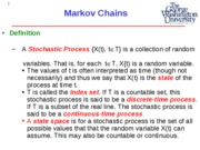 EMSE 208 Lecture 4 - Markov Chains