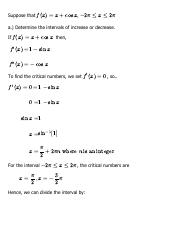Solution for Chapter 4, 4.3 - Problem 40 - Single Variable Calculus, 6th Edition - eNotes.pdf