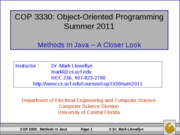 Methods in Java (9)