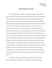 EDI Reference Guide