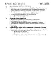 BUAD301 Exam 1 Outline.docx