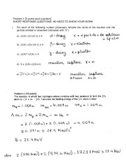 PHYS 244 - Practice Final Exam 2 Solution