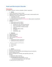 Human Physiology and Disease L