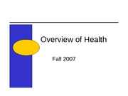 What is health fall 2007