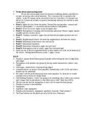 Education 441 Notes 11